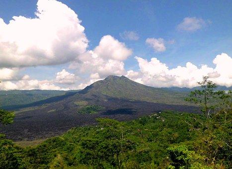 Gunung Batur, Kitamani, Bali, Indonesia, Mountain