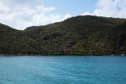 Ocean, Water, Sailing, Scenic, Australia, Whitsundays