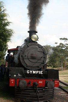 Gympie, Steam, Train, Rattler