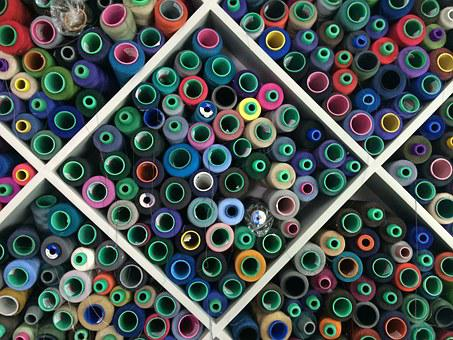 Thread, Factory, Textile, Clothing, Sewing
