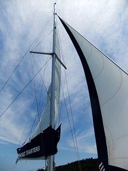 Whitsunday, Sailing, Boat, Sail, Main, Mast