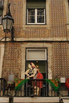 Portugal, Lisbon, Window, Turism