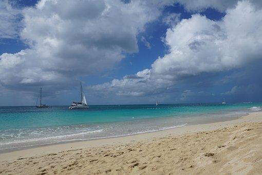 Antigua, Caribbean, Sea, Beach, Vacations, Holidays