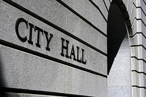 City Hall, Building, Hall, Los Angeles, Government