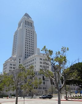 Los Angeles, City Hall, Buildings, Skyline
