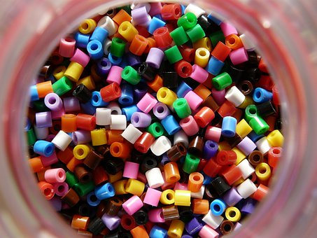 Beads, Colors, Multicolor