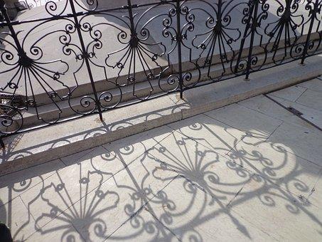 Railing, Texture, Iron, Decoration, Shadow