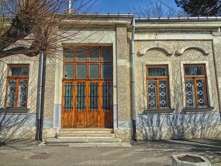 House, Doors, Falticeni, Romania, Home, Architecture