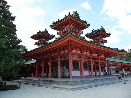 Heian Jingu Shrine, Shrine, Kyoto
