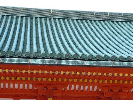 Heian Jingu Shrine, Kyoto, Shrine