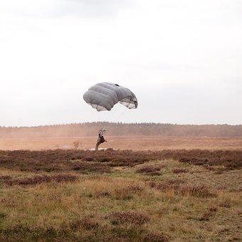 Parachute, Heideveld, Commemoration, Hills, Clouds