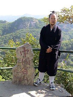Monk, Chinese, Human, Man, Person, China, Fengcheng