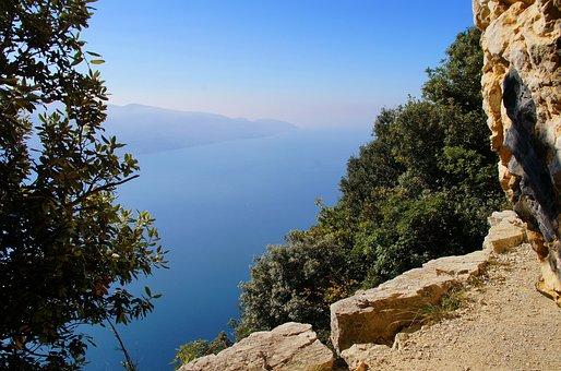Garda Lake, Italy, Landscape, Montecastello
