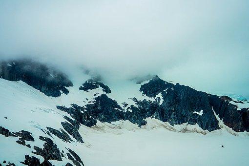 Alaska, Mendenhall Glacier, Snow, Scenic, Landscape