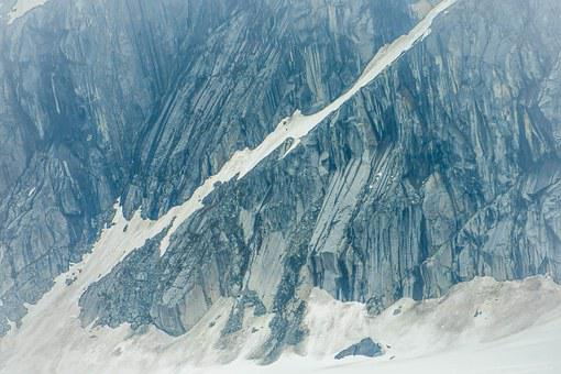 Alaska, Mendenhall Glacier, Mountain, Rocks