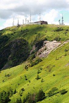Hara, Radio Tower, Mountain, Mountain Climbing, Rock