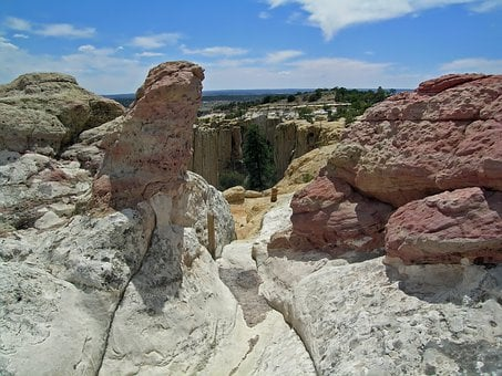 New Mexico, Rocks, Formations, Sandstone, Mountains