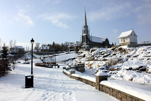 Home Of The Flood, Chicoutimi, Photography, Winter