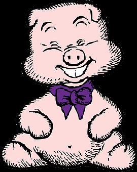 Pig, Farm, Animal, Agriculture, Livestock, Cute