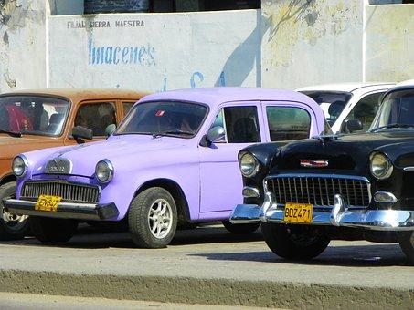 Old Cars, Vat, Fidel Castro, Ancient City, Old Car