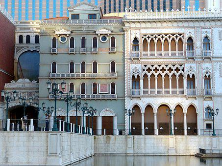 Macau, China, Asia, Architecture, Building, Macao