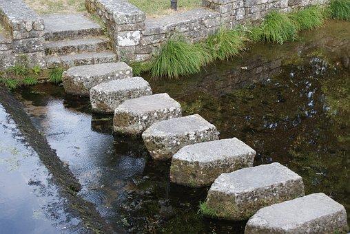 Pasal, Pontillon, Oseira, Galiza, River, Water, Nature