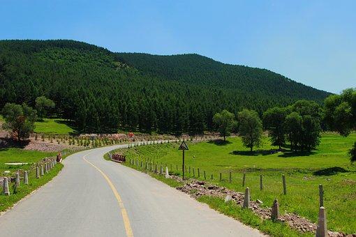 Road, Front, Prairie, Pilgrim's Progress, Distance
