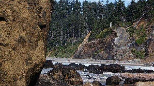 Shore, Beach, Rocky, Rocks, Coast, Indian Beach