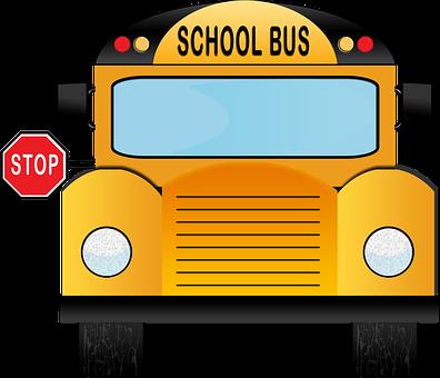School Bus, Bus, School, Back To School, American