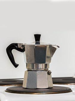 Tea, Coffee, Old Coffee Maker