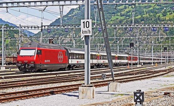 Swiss Federal Railways, Abstellanlage, Brig, Valais