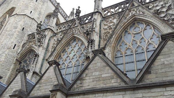 Breda, Church, Facade, Architecture, Building