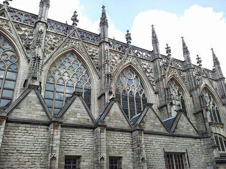 Breda, Church, Facade, Architecture, Historic Building