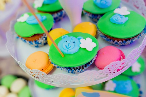 Muffin, Color, Sweet, Dessert, Delicious, Party