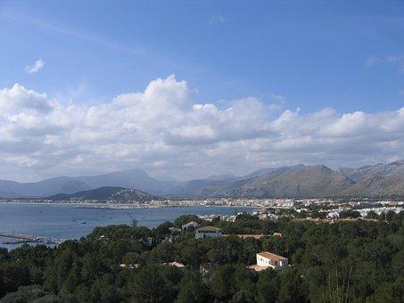 Port De Pollença, Pollença, Mallorca