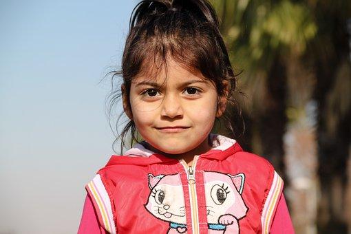Child Portrait, Girl Portrait, Smiley Girl