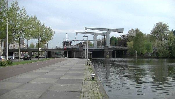 Rotterdam, Water, Bridge, Stadt, River Crossing