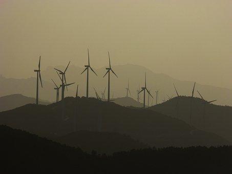 Wind Turbines, Ecology, Mills, Mountains, Windmills
