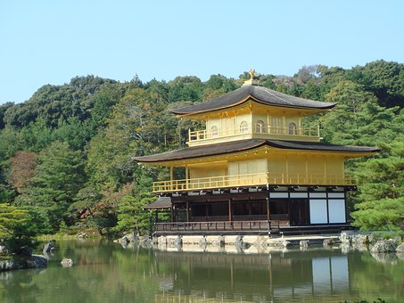 Golden Pavilion Temple, World Heritage, Japan