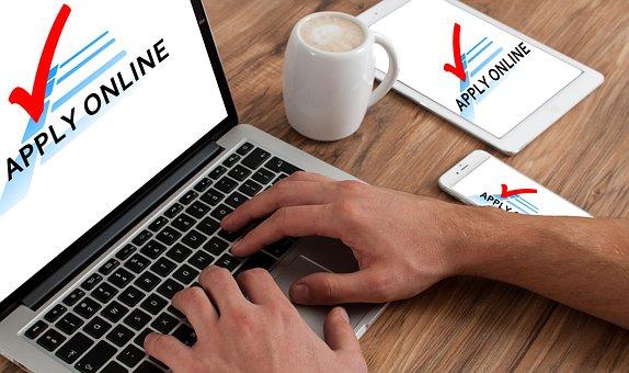 Application, Online, Macbook, Request, Job Application