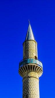 Minaret, Mosque, Religion, Islam, Architecture, Muslim