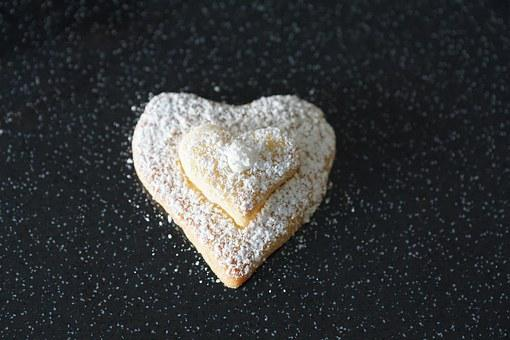 Heart, Cookie, Love, Pastries, Bake
