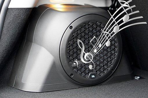 Car, Speaker, Sound, Audio, Music, Stereo, Bass