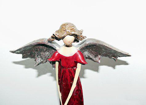 Angel, Christmas Angel, Pray, Cherub, Decoration
