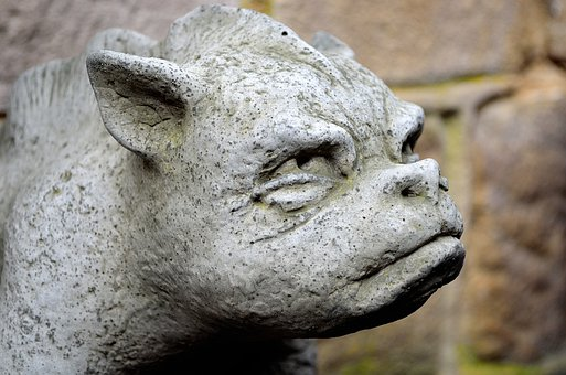 Gargoyle, Statue, Stone, Monster, Symbol, Decorations