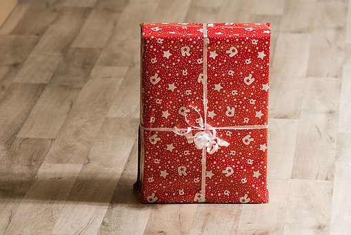 Present, Package, Gift, Christmas, Holiday, Box, Ribbon