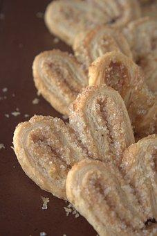 Cookies, Heart Shaped, Sugar, Sweet, Biscuits, Dessert