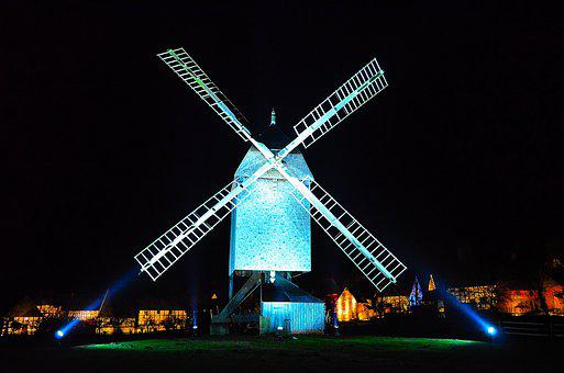 Windmill, Lighting, Historically, Atmosphere, Mood