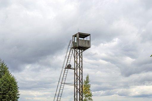 Lookout Tower, Lifeguard Tower, Post Salvor, Coast