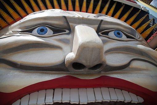 Luna Park, Face, Smile, Park, Fun, Amusement